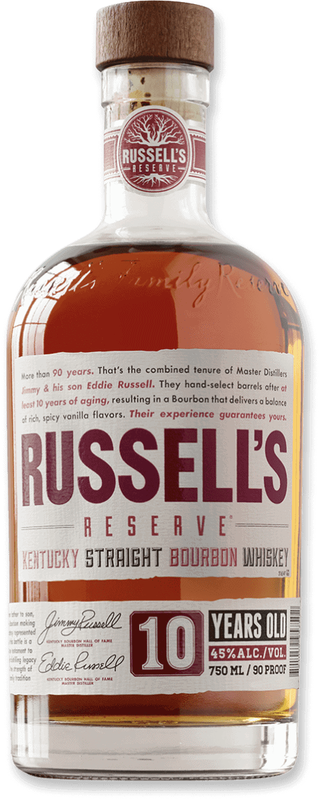 Russell's Reserve 10 Year Old Bourbon bottle