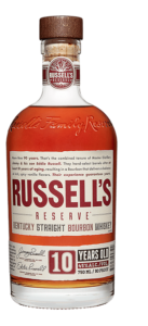Russell's Reserve 10 Year Bourbon bottle