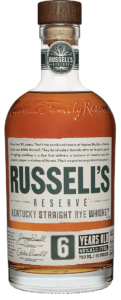 Russell's Reserve 6 Year Old Rye bottle