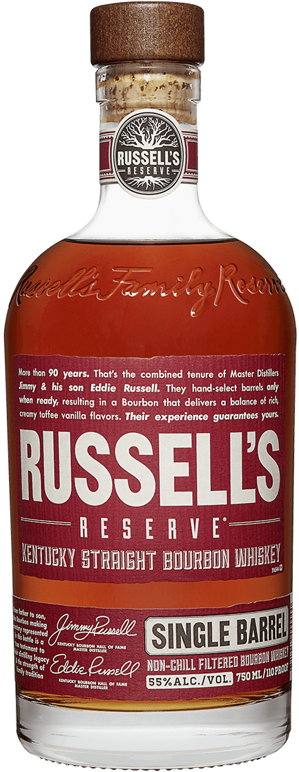 Russell's Reserve Single Barrel Bourbon Bottle